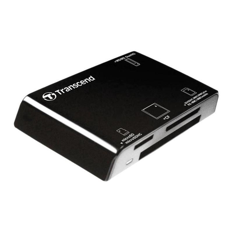Đầu đọc thẻ nhớ All in1 Multi-Card Reader - P8K Transcend - Đen