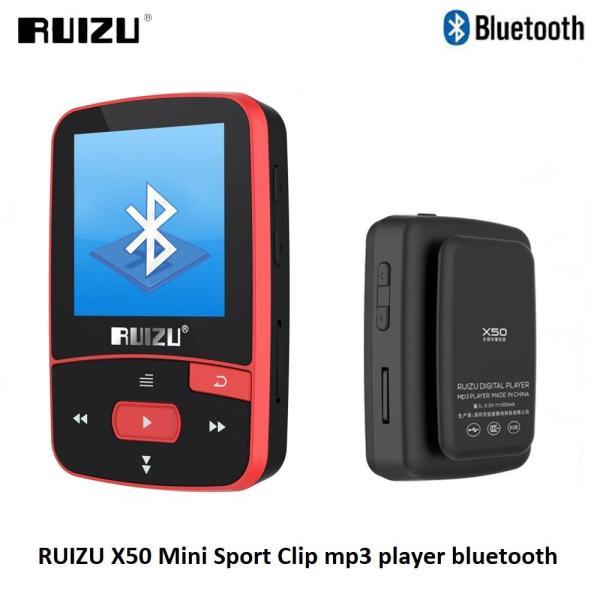 Máy nghe nhạc bluetooth thể thao Ruizu X50 - Mini Sport Clip