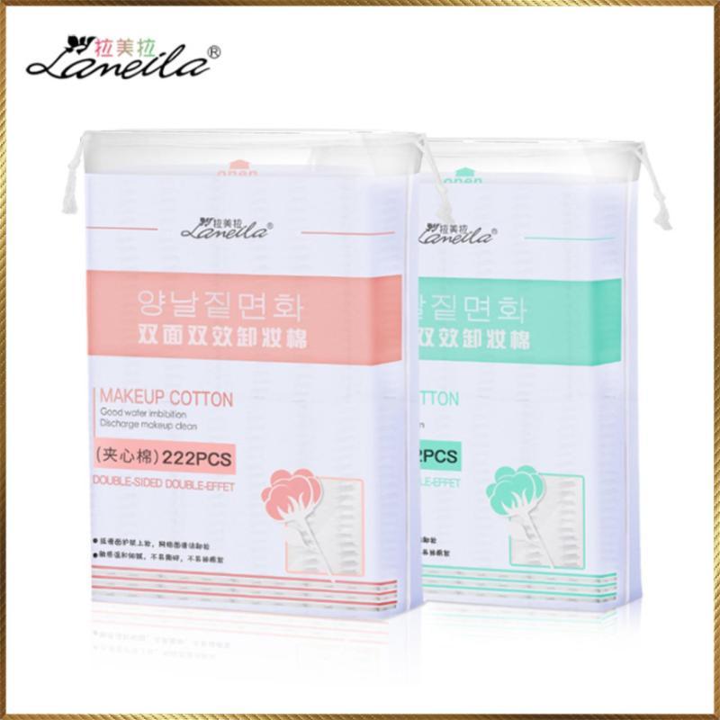 Bông tẩy trang Laneila túi 222 miếng BL33 nhập khẩu