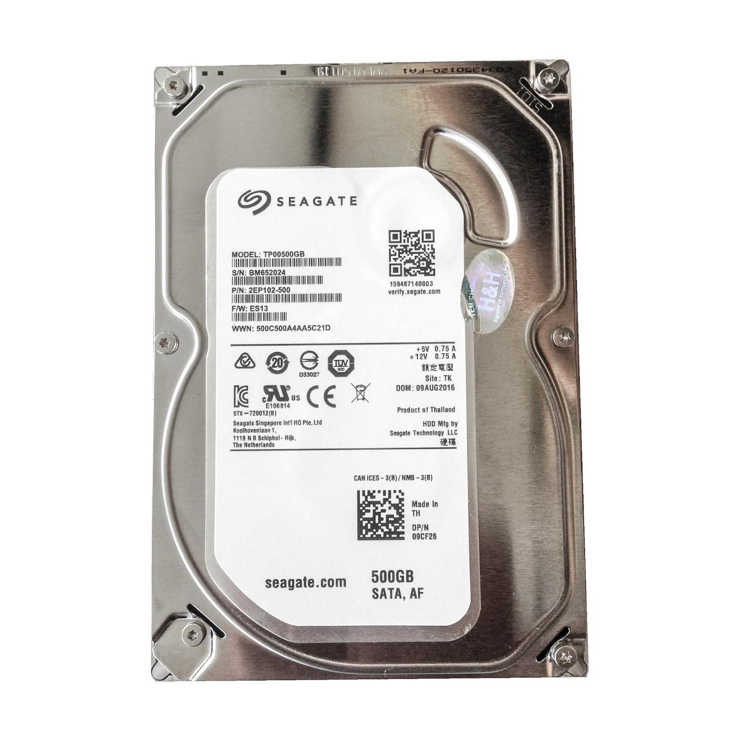 Hình ảnh Ổ cứng gắn trong máy tính bàn HDD Seagate 500GB