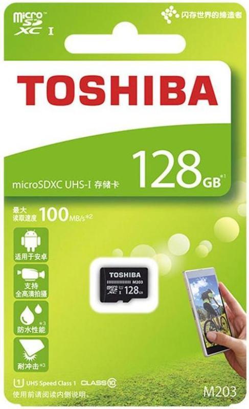 Thẻ nhớ Toshiba MicroSDHC 128gb 100mb