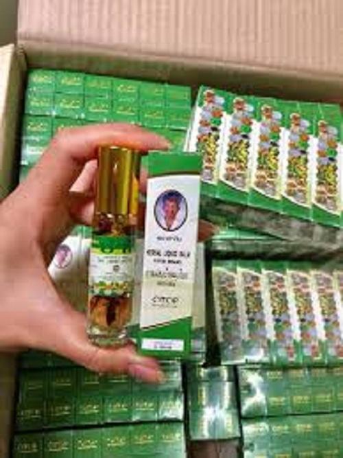 combo 12 chai Dầu lăn thảo dược Herbal Liquid Balm Yatim Brand Thái nhập khẩu