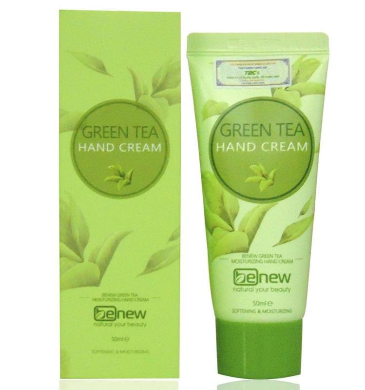Kem tẩy da chết trà xanh trị mụn Benew Green tea (120ml)
