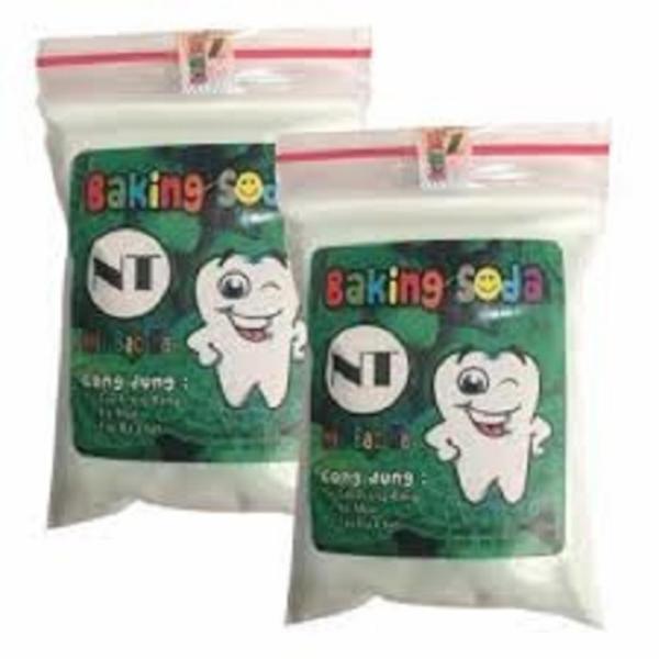 Bộ 2 bột làm trắng răng Baking soda thương hiệu NT- (50g x 2 gói) giá rẻ