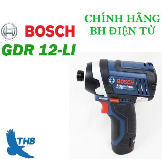 Máy vặn vít dùng pin Bosch GDR 12-LI