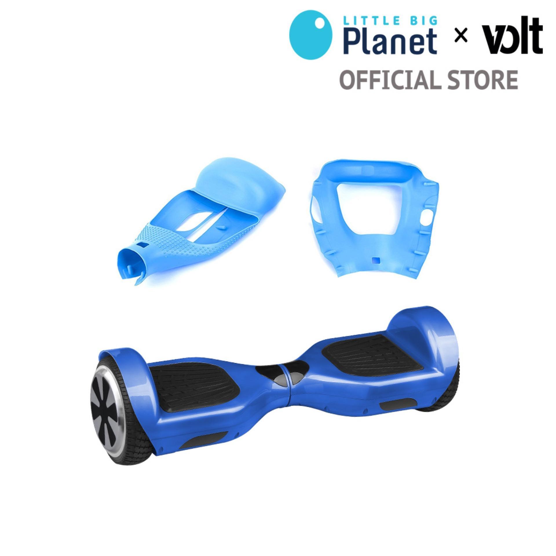 COMBO Xe tự cân bằng SMART D BLUE + Vỏ bọc bảo vệ SILICONE