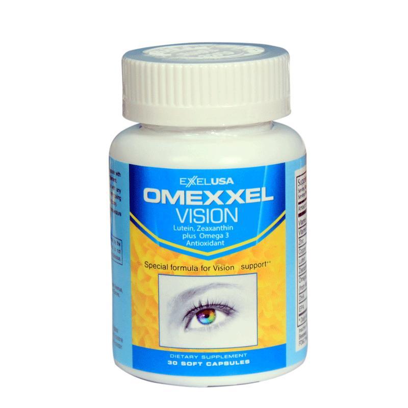Viên uống bổ và sáng mắt Omexxel Vision (30 viên) - Chính hãng Hoa Kỳ