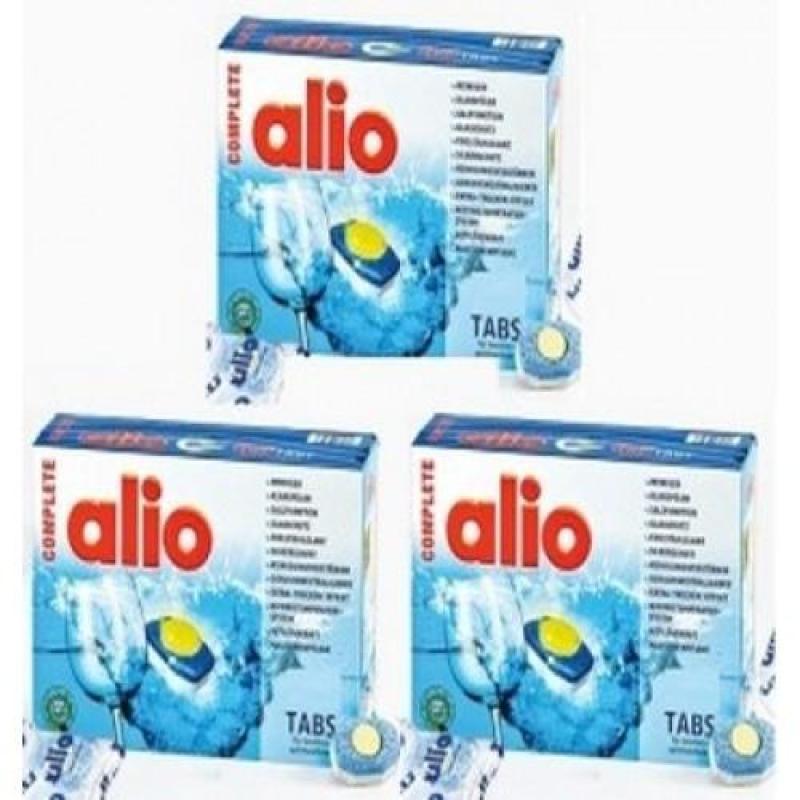 Combo 3 hộp viên rửa bát Alio 40 12 in 1 viên tặng 1 bộ rò gỉ gas SHIN WOO madein hàn quốc