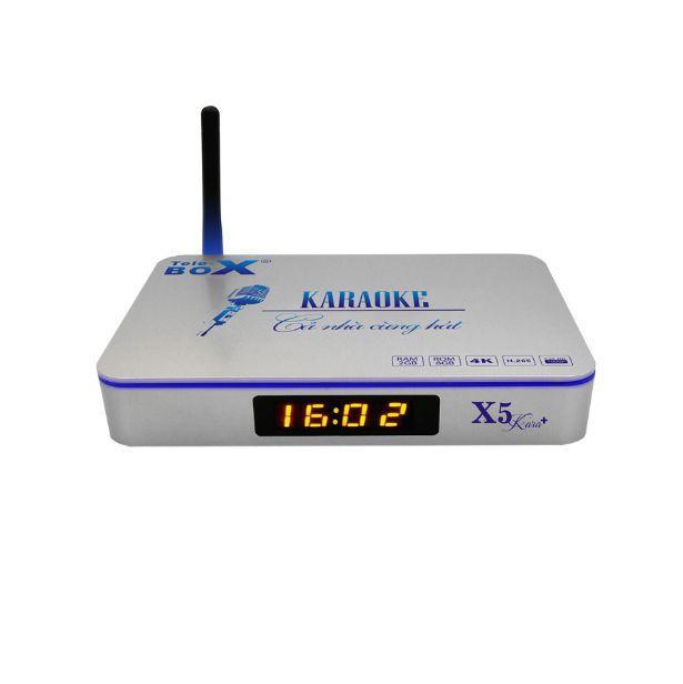 Hình ảnh Smartivi Box - Telebox X5 Karaoke X5 Plus ( Tặng chuột không dây )
