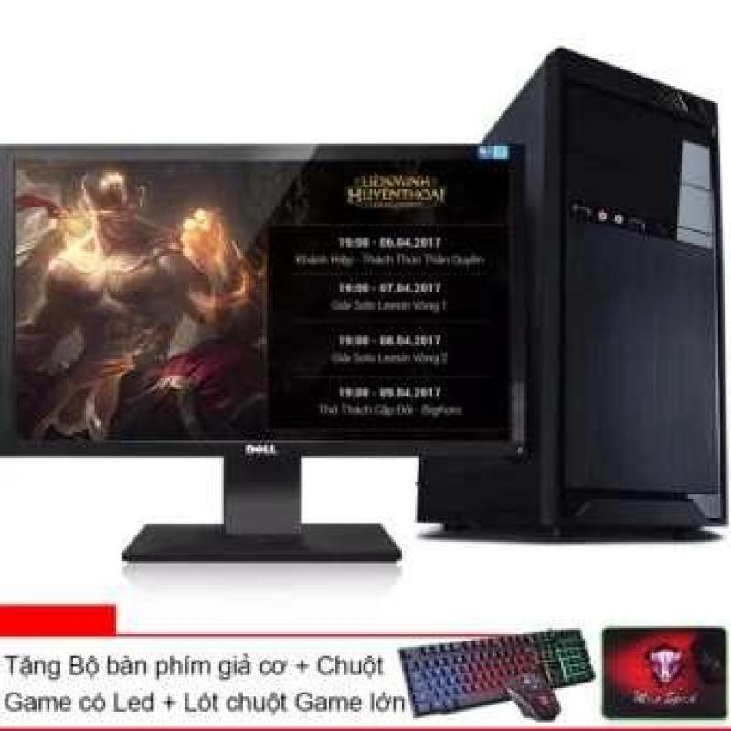 Bảng giá [Trả góp 0%]Bộ Máy tính ( Intel® core i7 2600  Ram 16GB  SSD 120G / HDD 2TB  VGA GTX 730 2G/DDR5)  Màn hình Dell 22inch  Tặng bàn phím chuột giả cơ Led 7 màu Phong Vũ