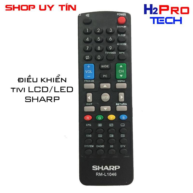 Bảng giá ĐIỀU KHIỂN TIVI SHARP LCD/LED RM-L1046 (tặng đôi pin)