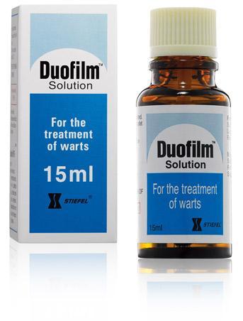 Hình ảnh Duofilm trị mụn cóc, mắt cá chân