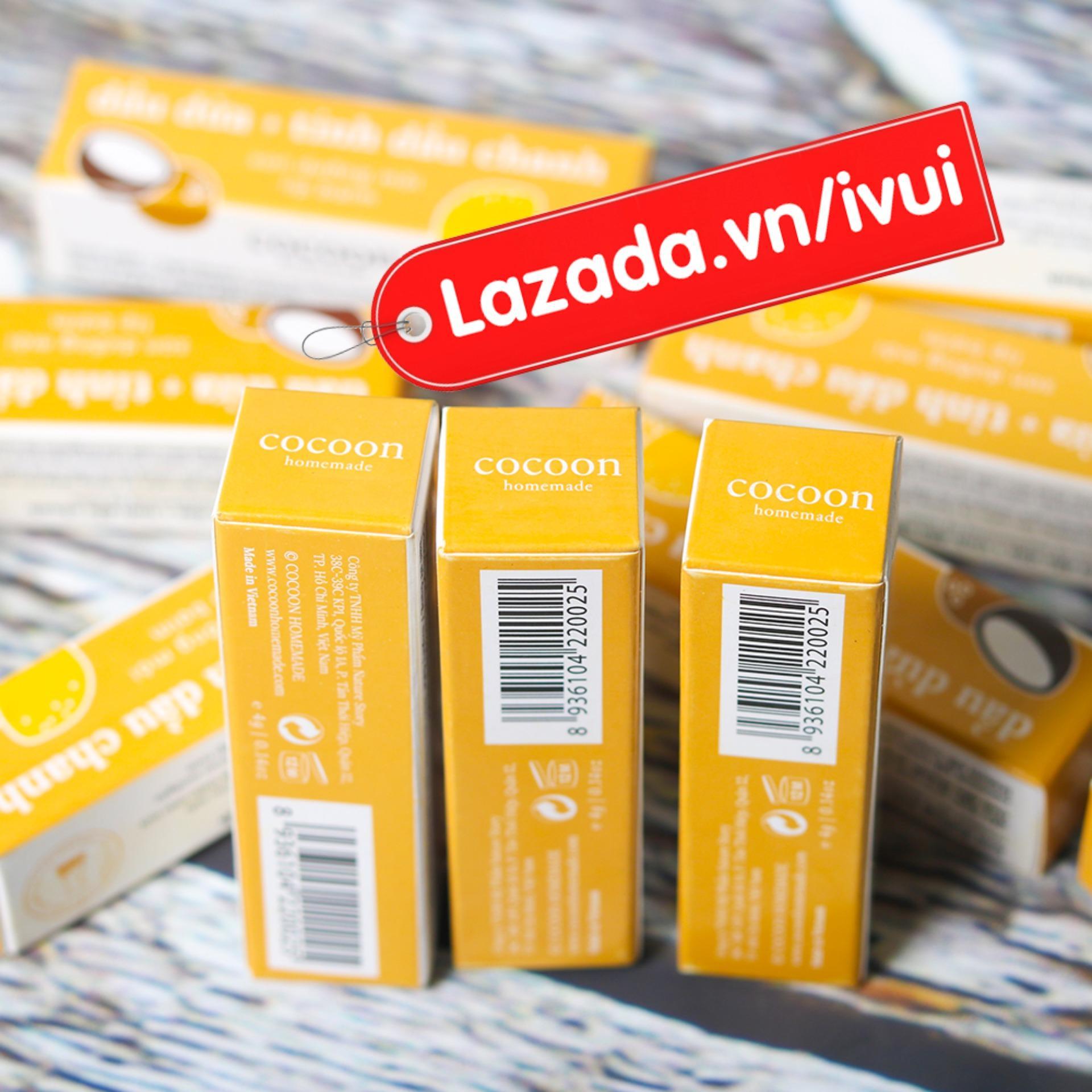 Bộ 3 son dưỡng môi Lip Care Cocoon