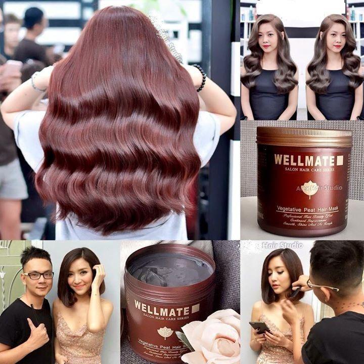Kem ủ tóc Wellmate 500g từ Ý nhập khẩu