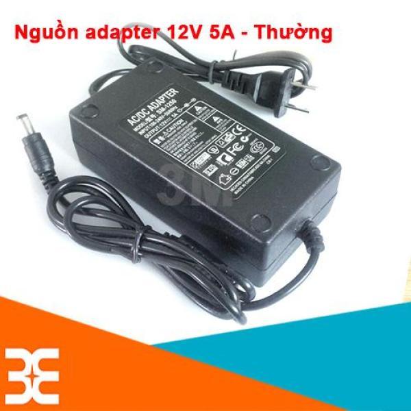Bảng giá [Tp.HCM] Nguồn Adapter 12V-5A 5.5x2.1mm
