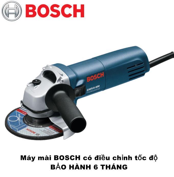 Máy mài, máy cắt Bosch GWS6 -100 có điều chỉnh tốc độ