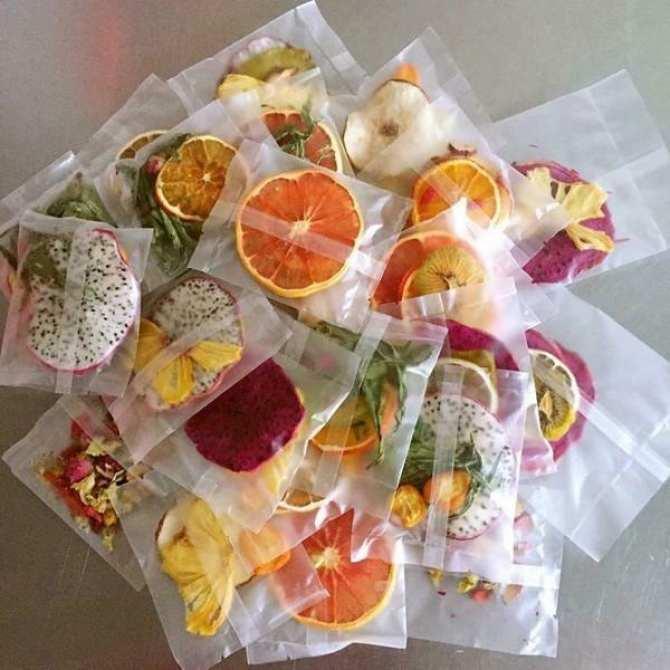 30 Set Gói Trà Detox hoa quả sấy khô giảm cân, DETOX KOREA (ảnh thật)