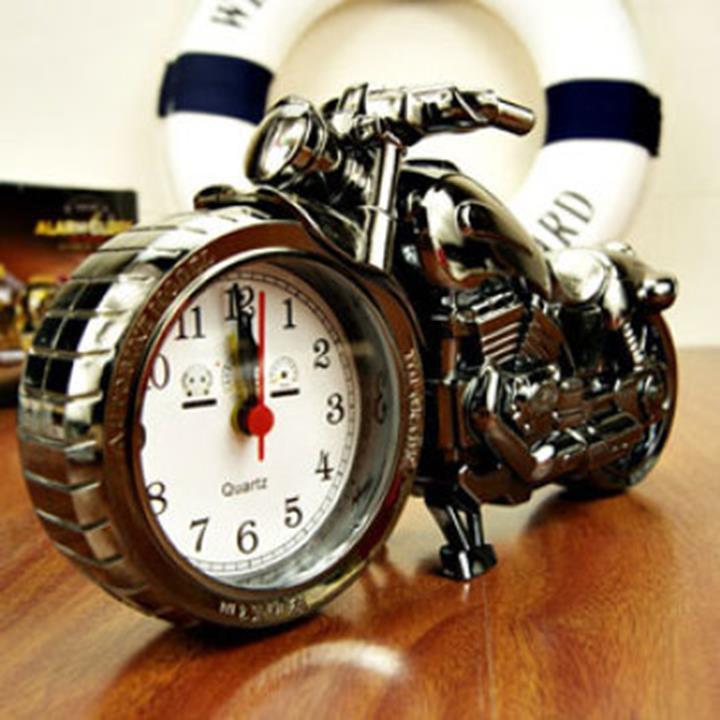 Nơi bán Đồng hồ báo thức để bàn hình chiếc xe mô tô siêu ngầu