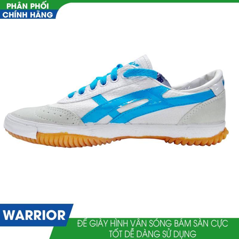 Giày thể thao nam Warrior W28 (Trắng Xanh)