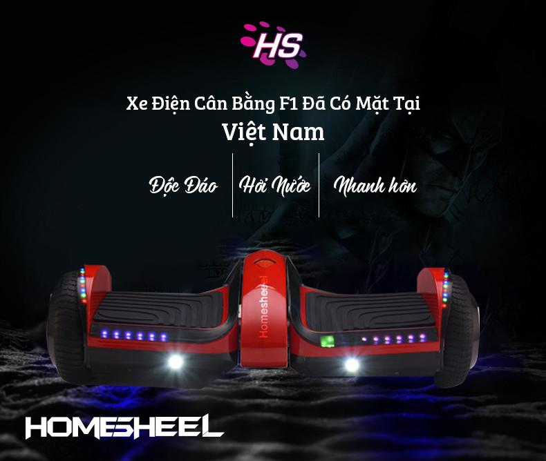 Giá bán Xe điện cân bằng HOMESHEEL F1 USA Phiên bản 2019 - ĐỏSANKYO