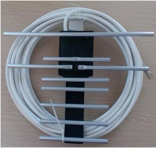 Ăng ten thu sóng đầu thu DVB T2 - kèm dây 15m