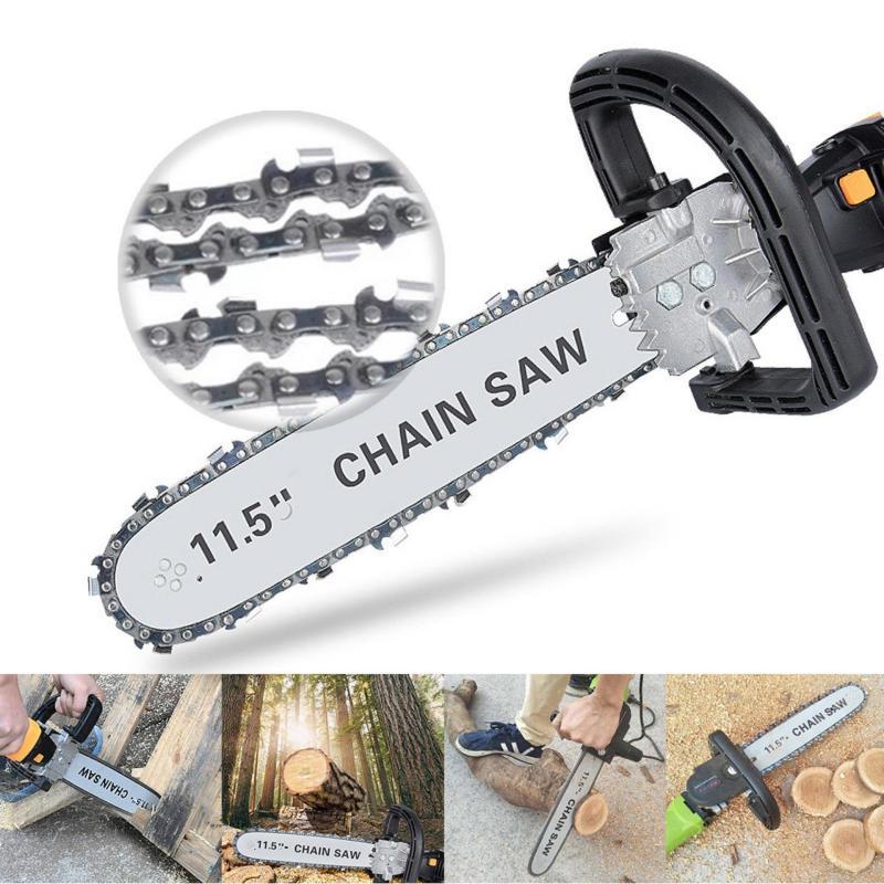 Lưỡi cưa xích gắn máy mài - dùng để chế tạo dụng cụ cắt gỗ