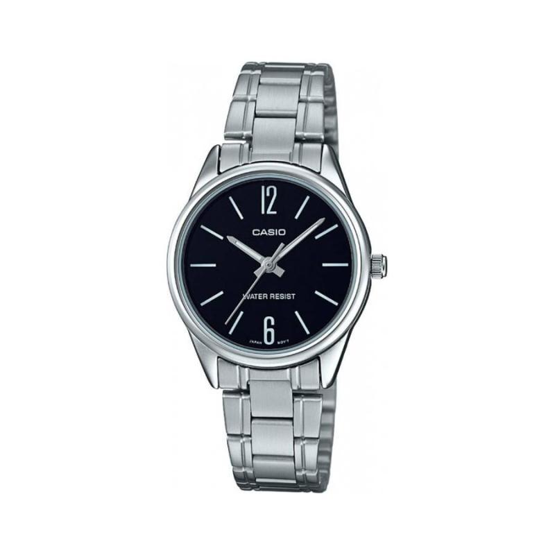 Đồng hồ nữ dây thép Casio Anh Khuê LTP-V005D-1BUDF