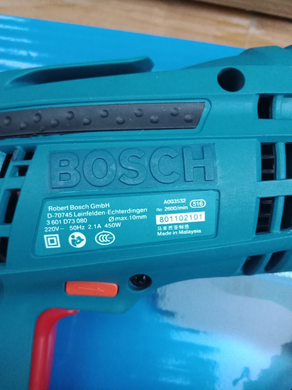 Máy khoan Bosch 10ly 1  may khoan cam tay  may khoan gia re