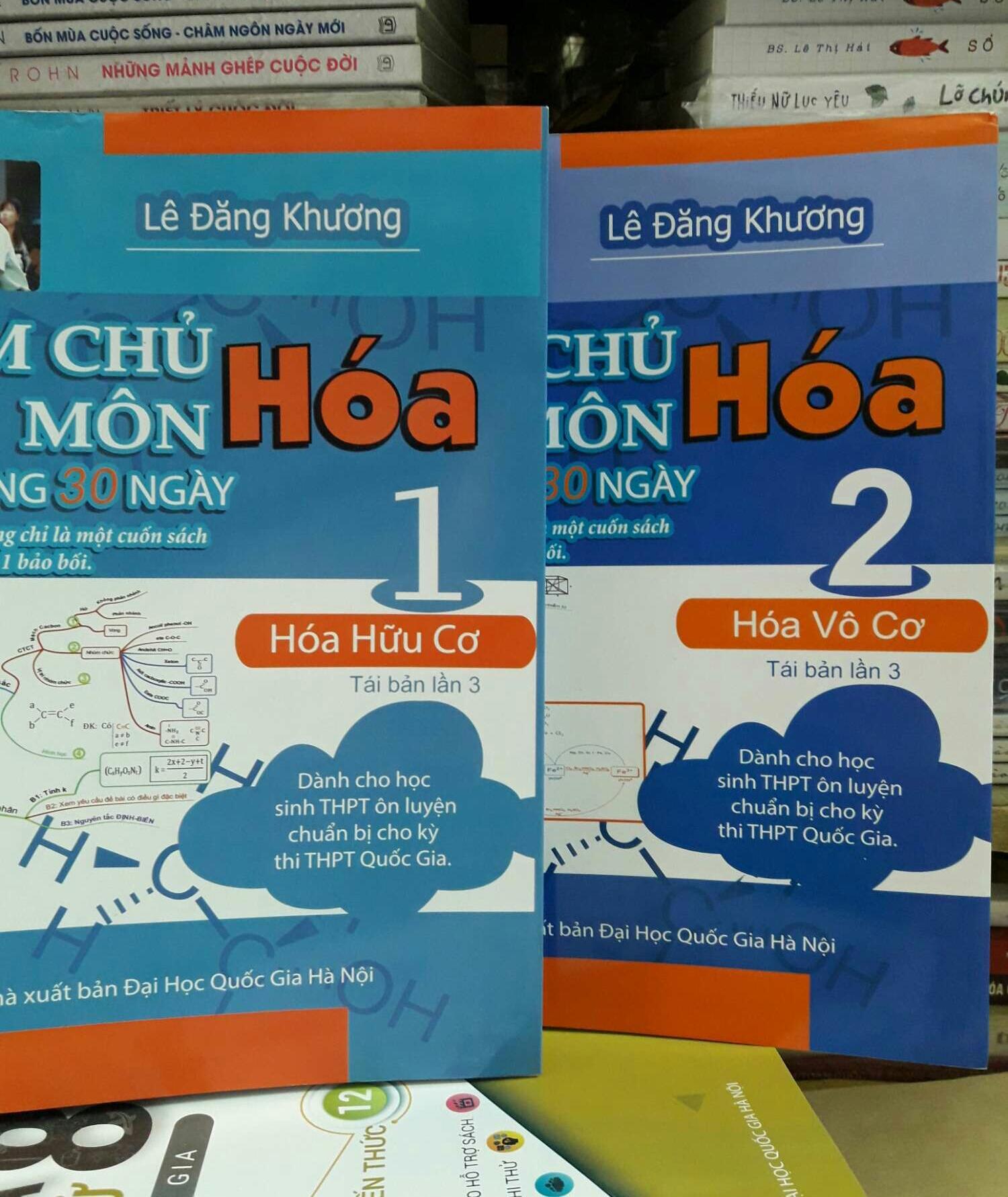 Mua Combo trọn bộ 2 tập: Làm chủ môn hóa trong 30 ngày.