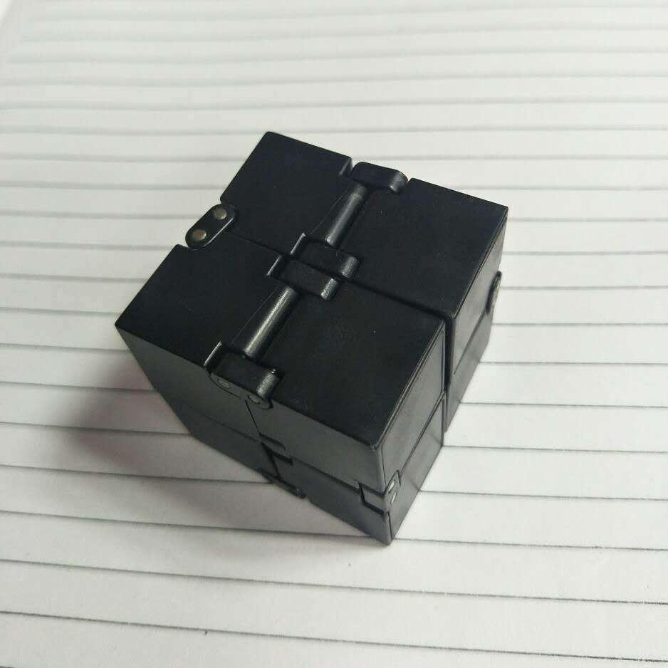 Hình ảnh Khối lập phương (Rubik) vô cực INFINITY CUBE thần kỳ (Đen) GR45