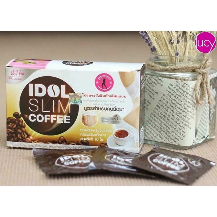 Cà phê giảm cân Idol Slim Coffee Thái Lan nhập khẩu
