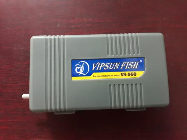 Máy sục khí oxy bể cá dùng pin VS-960