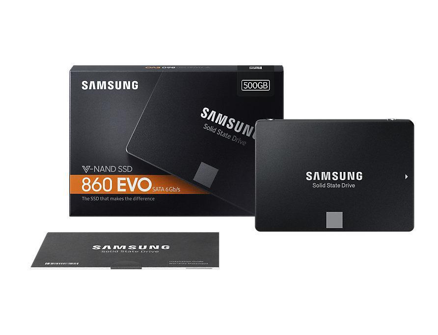 Hình ảnh Ổ cứng SSD samsung 500GB Evo 860 SATA III