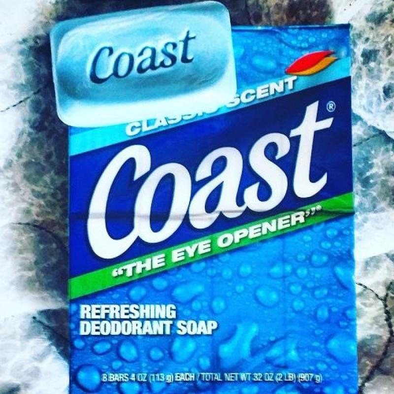 Set 8 cục Xà bông Coast 113g (907g) cao cấp