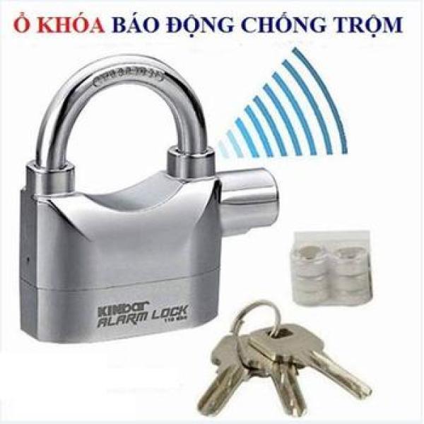 Khóa Cửa, Ổ khóa báo động chống trộm Kinbar Alarm Lock Móc ngắn Hàng Cao Cấp Loại 1