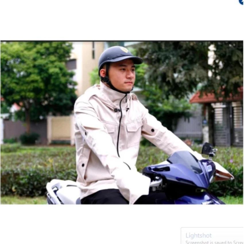 Ao Chống Nắng Cho Nam Giới Cao Cấp Vải Kaki V2L Oem Chiết Khấu 50