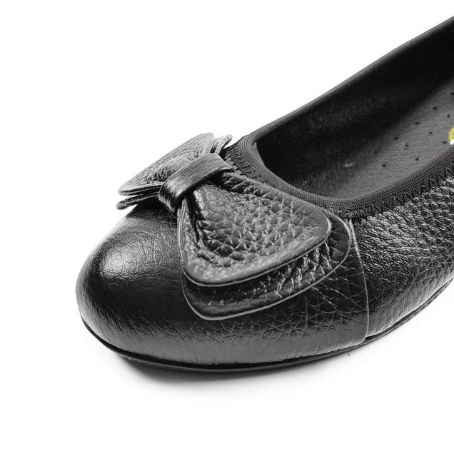 Giày Cao Gót Đế Xuồng Cao 5cm Da Bò Thật Mềm Mại Đẹp Sang Trọng Quý Phái (Đen) Evelynv 5P05BH giá rẻ