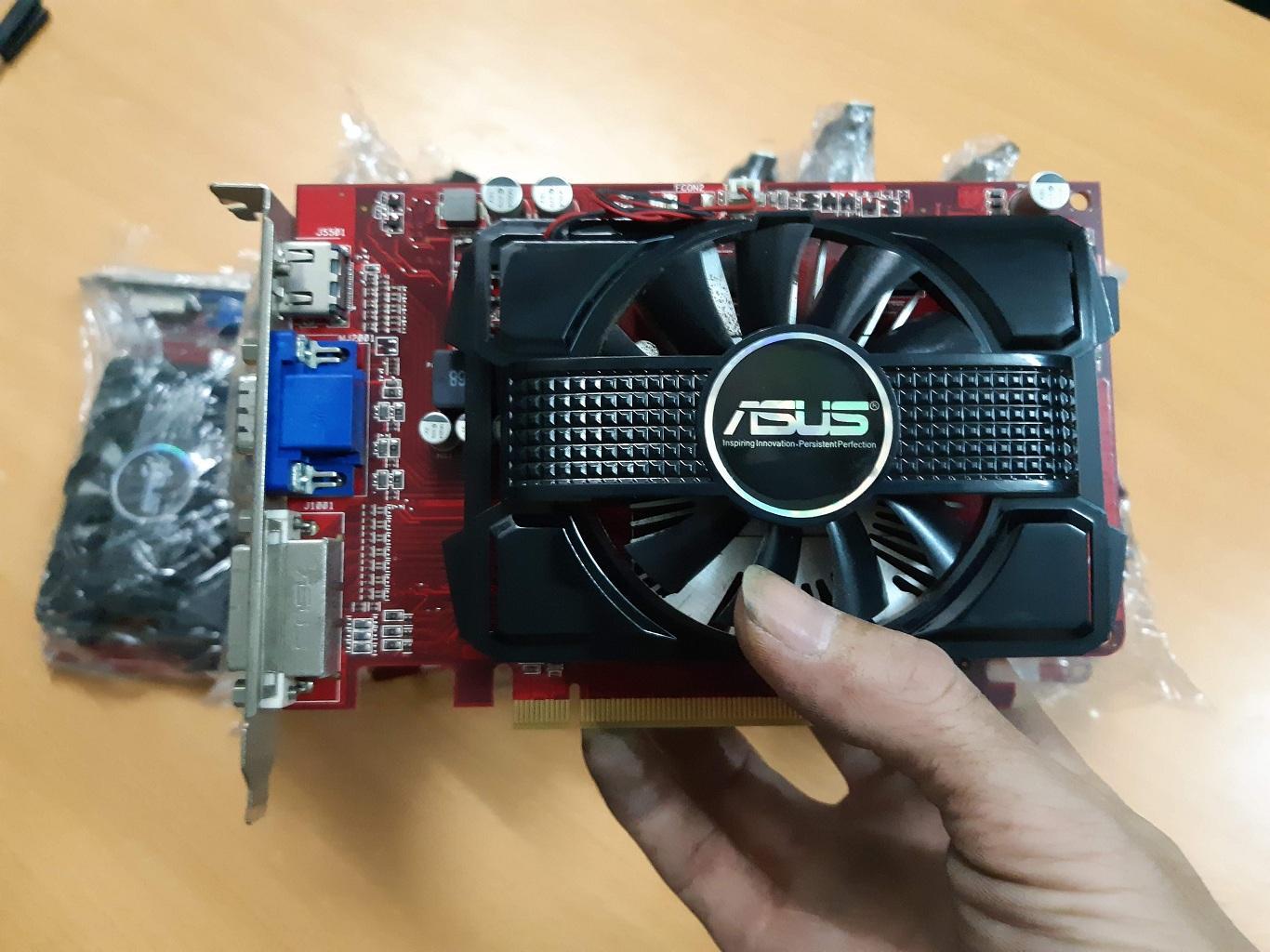 Hình ảnh ( Giá tốt ) Cạc màn hình rời HD 1G/128B chiến Game đồ họa Lol, FIFa, CF ...