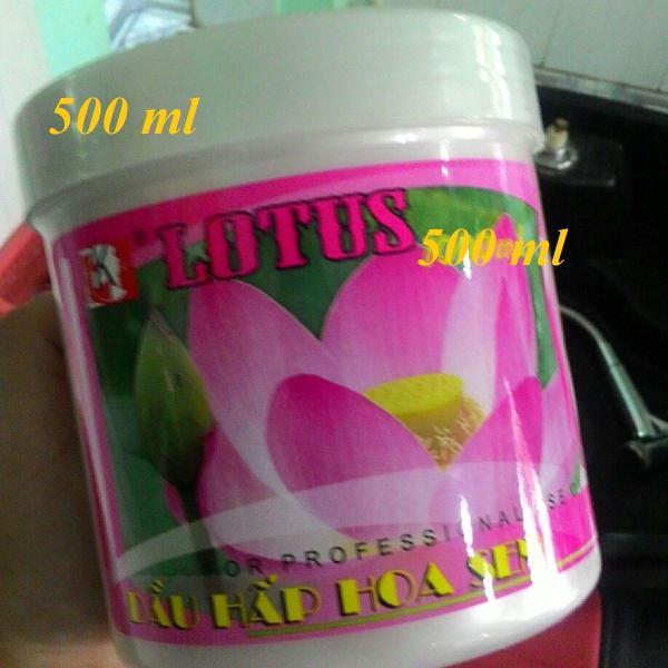 Kem Hấp Dầu Hoa Sen Lotus 500 ml - Thanh Loan