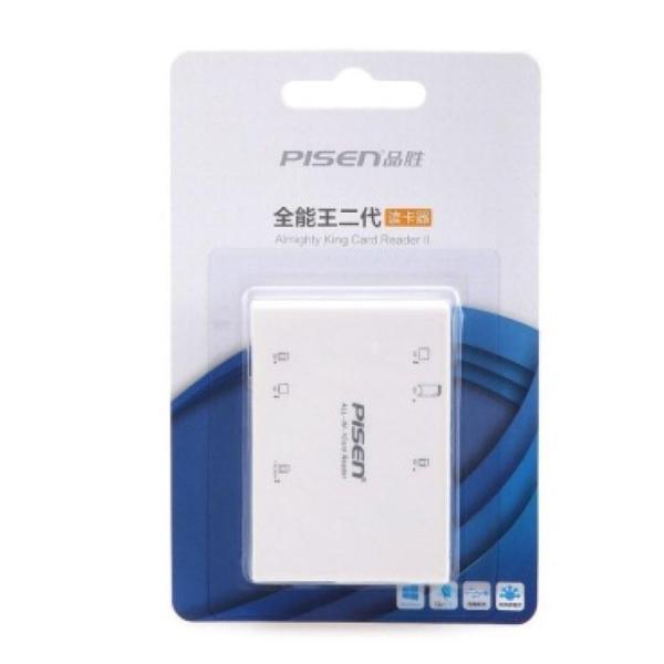 Đầu đọc thẻ Pisen Card Reader II All-in-1 USB 2.0 TS -E070 ( Hàng Cty )