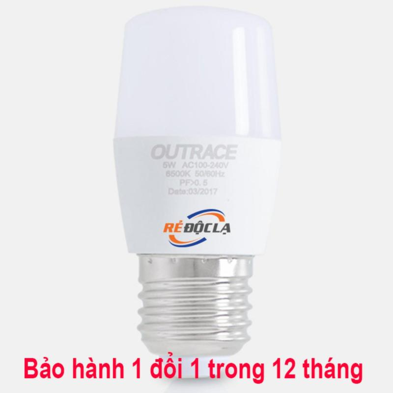 Bóng đèn Led bulb 5W Outrace ( Ánh sáng Trắng ) - Led Cao Cấp- Better Shop