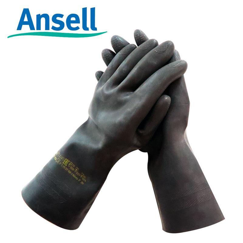 ANSELL Ansell87-950 Cao Su Chống Hóa Chất Trong Phòng Thí Nghiệm Găng Tay