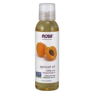 NOW FOODS-Dầu mơ dưỡng tóc, chống lão hóa tinh kiết 100% 118ml - Apricot Oil thumbnail