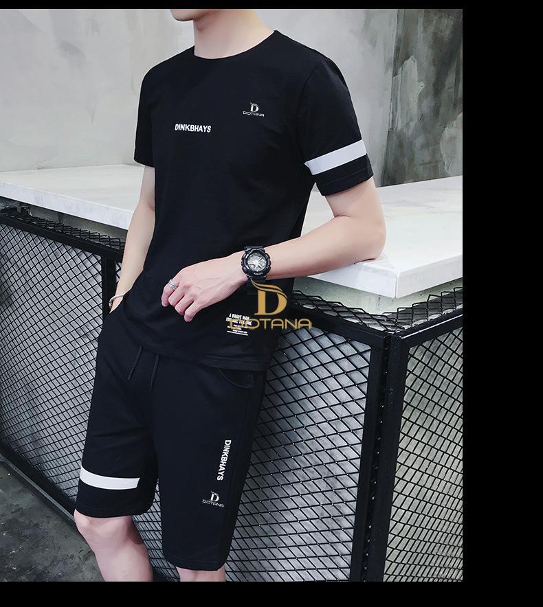 Áo thun nam nguyên bộ RUNING MAN phong cách thể thao siêu đẹp ML92