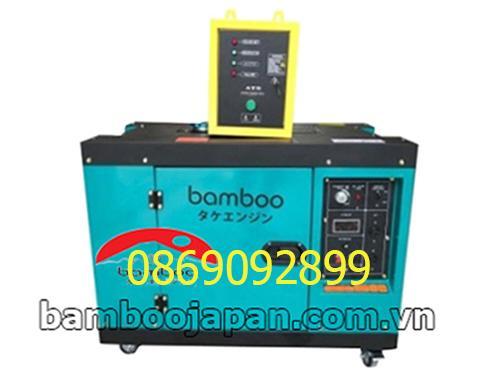 Máy phát điện BamBoo BMB 9800A 8,5kw dầu đề có tủ ATS