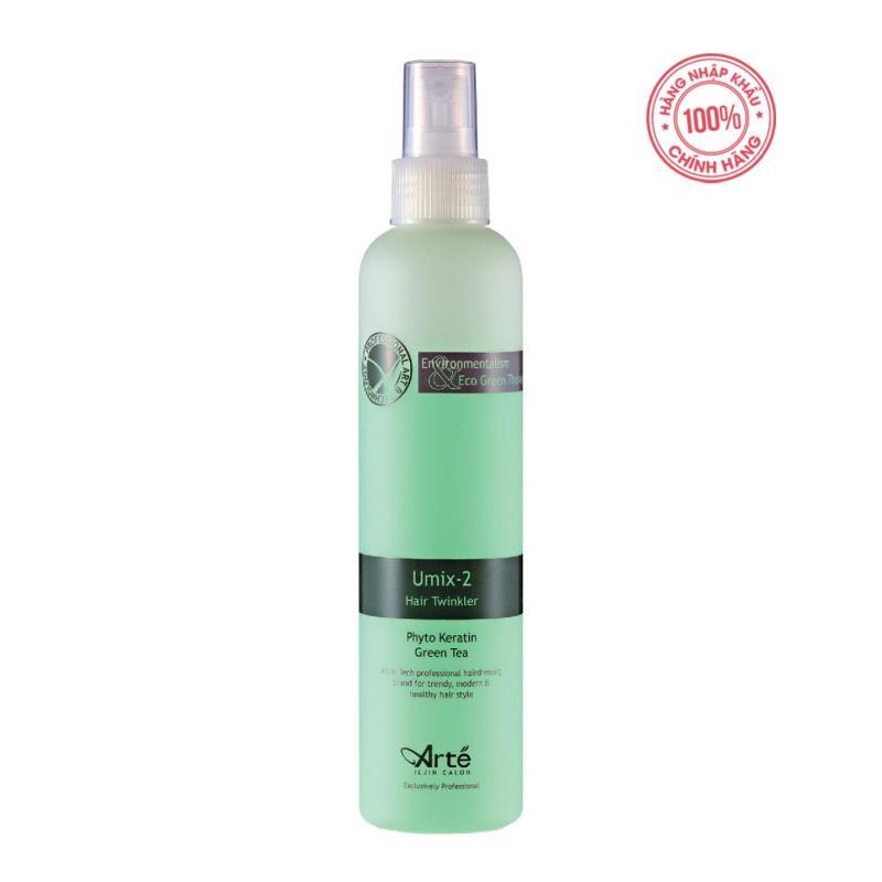 Nước xịt dưỡng tóc Ar té Umix-2 Hair Twinkler 250ml Hàn Quốc giá rẻ