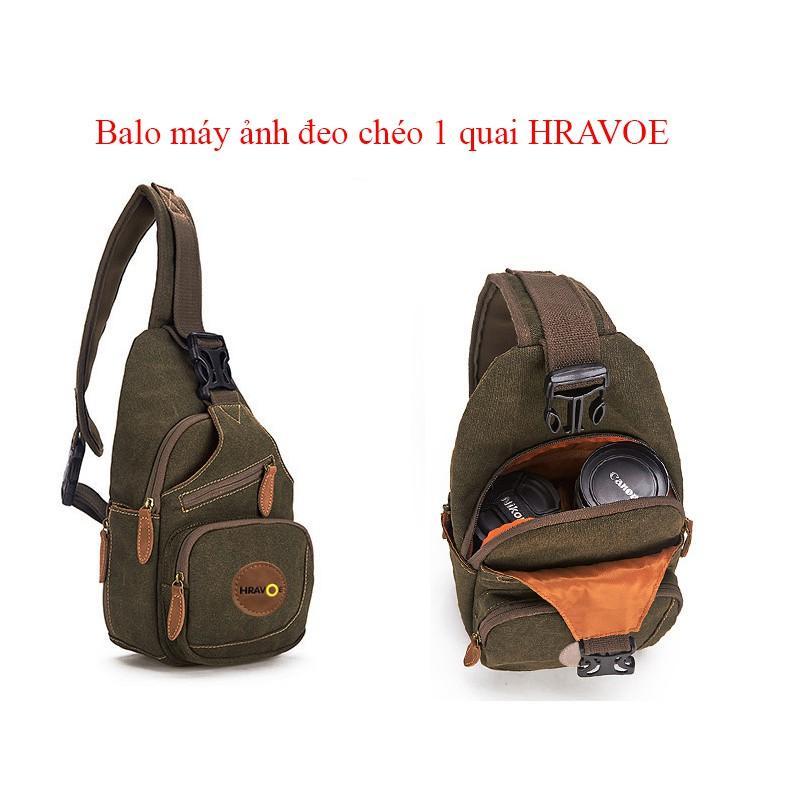 Hình ảnh Balo máy ảnh đeo chéo 1 quai HRAVOE