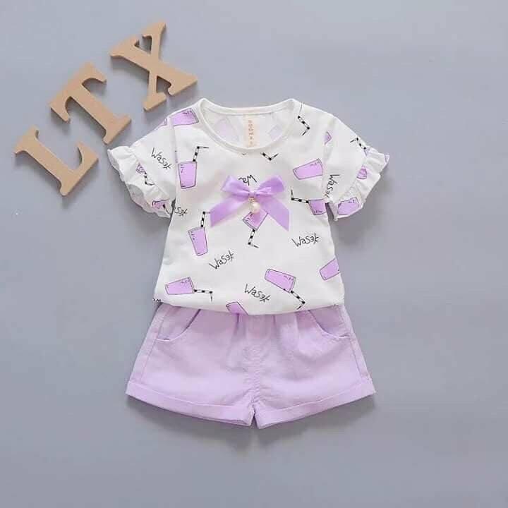 bộ đồ cho bé gái