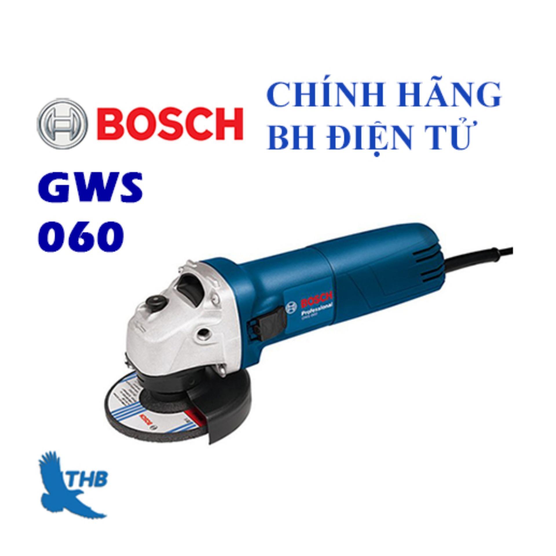 Máy mài góc Bosch GWS 060 tặng Tay cầm