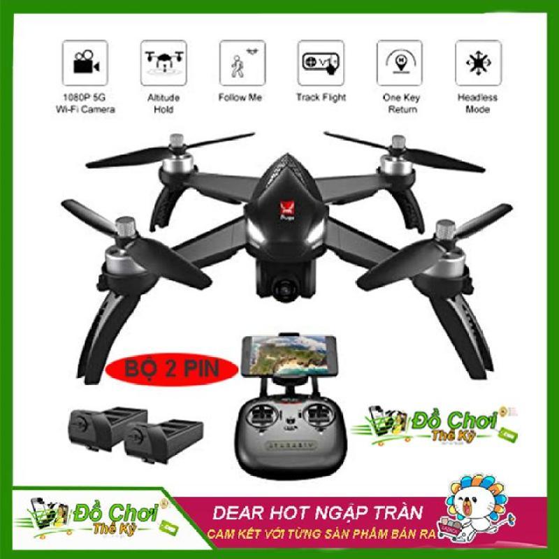 ( Bộ Sản Phẩm 2 Pin ) Máy bay flycam MJX bugs 5W – GPS, follow me , truyền hình ảnh về điện thoại, camera chỉnh góc xoay 90 độ